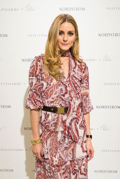 Olivia Palermo poses for a photo as she promotes her new collection at Nordstrom Northpark on February 12, 2016 in Dallas, Texas.