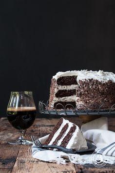 Black and Tan Stout Cake