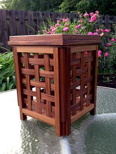 DIY Outdoor Citronella Candle Teak Lantern That Stays Dry With Rust-Oleum NeverWet