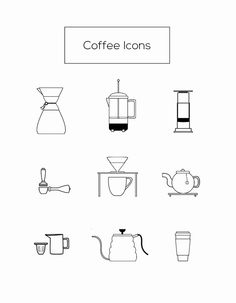 Coffee Icons on Behance