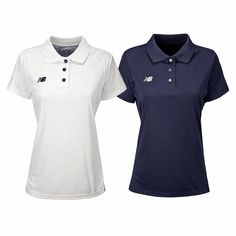 NEW BALANCE WOMEN'S TECH POLO SHIRT 2-PACK White/Team Navy New Balance Women's Polo Shirt New Balance Women's Tech Polo Shirt 2-Pack at Proozy.com White/Team Red New Balance Women's Polo Shirt New Balance Women's Tech Polo Shirt 2-Pack at Proozy.com White/Team Black New Balance Women's Polo Shirt New Balance Women's Tech Look superfly on your days off in this cute, feminine polo with a fitted profile.  Product Features 3-Button Logo on right chest 100% Polyester 2-Pack Collection: WOMEN'S…