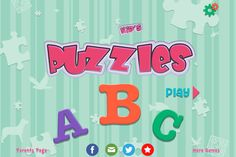 Kids Alphabets Puzzles -- combines puzzles and the alphabet ($0.99)
