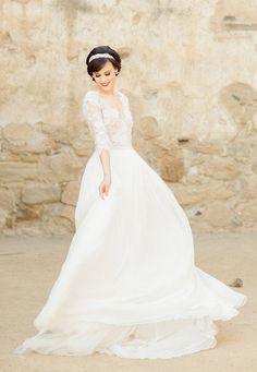 Lana Wedding Gown – Musat Bridal – Rochie de mireasa Lana One Shoulder Wedding Dress, Wedding Gowns, Couture, Bridal, Fashion, Homecoming Dresses Straps, Haute Couture, Moda, Wedding Dresses