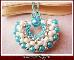 Bold Blue Zoe - Jewelry MANIA free tutorial by diagram
