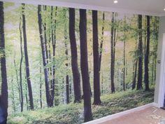Forrest wallpaper mural Www.digitaldecors.co.uk