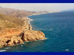 Mojacar Playa, Macenas beach road to Manacas chiringuito (beach bar) - www.RMBspain.com