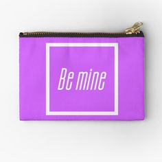 Zipper Pouch, Me Quotes, Coin Purse, Wallet, How To Make, Aesthetics, Bags, Etsy, Products