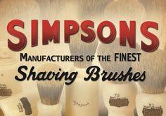 Simpsons Shaving Brushes - Nassrasur vom Feinsten