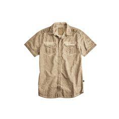 """Produktbeschreibung:      - Alpha Industries Hemd """"Coal Dyed Shirt"""" aus Baumwolle    - Used Look Cotton    - Schulter Patten    - Gewebtes Label        Passform & Größenlauf:      - Normale Passform (SF - Standard Fit)     - Erhältlich in den Größen: S - 3XL        Material & Pflege:      - Oberstoff : 100% Baumwolle  ..."""