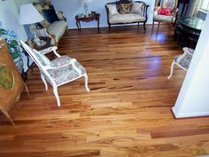 Tigerwood Koa Hardwood Floor