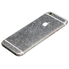 Silver Glittery iPhone 6 Plus / iPhone 6S Plus Full Body Sticker Wrap