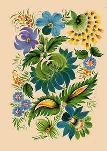 Russian folk art Russian Folk Art, Ukrainian Art, Bordado Popular, Inspiration Art, Scandinavian Folk Art, Folk Embroidery, Arte Popular, Tole Painting, Pattern Art