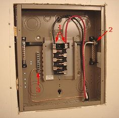 Home electrical wiring electricity pinterest electrical how to add more electrical circuits do it yourself sub panel installation residential wiringgarage solutioingenieria Images