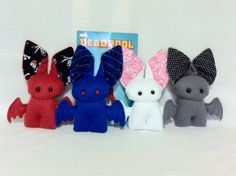 Big-Eared Stuffed Bat Plush Toys