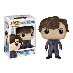 Pin for Later: These New Sherlock Funko Pop! Dolls Are Perfectly Adorable The original Sherlock Holmes.