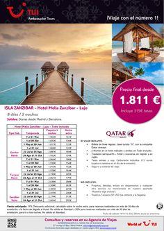 Oferta Isla Zanzibar - Hotel Melia Zanzibar. Precio final desde 1.811€ - http://zocotours.com/oferta-isla-zanzibar-hotel-melia-zanzibar-precio-final-desde-1-811e-19/