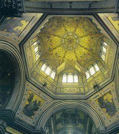 interior dome of Frogmore Mausoleum