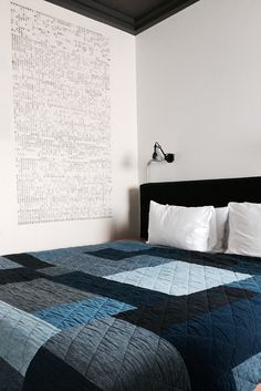 Quilt designed by APC for Ace Hotel London