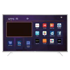 """Smart TV LED 49"""" Semp TCL 49P2US Ultra HD 4K 3 HDMI 2 USB Prata com Conversor Digital Integrado << R$ 218405 >>"""