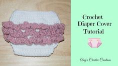 These cute ruffled diaper covers are great to make for a newborn for a baby shower gift! I made this for a Newborn Baby Girl. The size i...