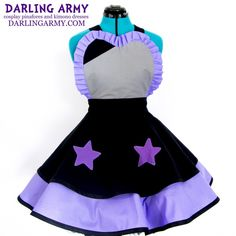 Amethyst Steven Universe Cosplay Lolita Pinafore Dress | Darling Army