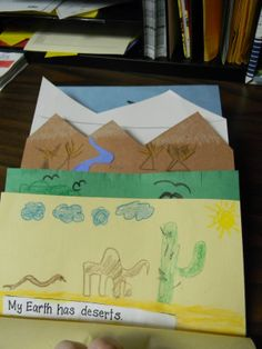 foldables | Simply 2nd Resources: Gotta Love Landforms