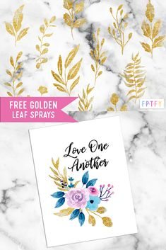 12 Free gold leaf spray graphics - Free Pretty Things For You Printable Planner, Party Printables, Free Printables, Digital Journal, Free Digital Scrapbooking, Free Graphics, Photoshop Elements, Gold Leaf, Scrapbook Paper
