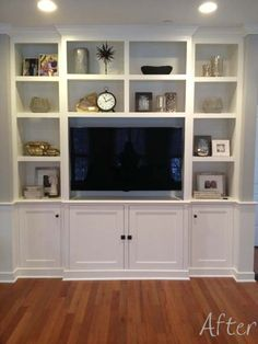 after - built-in wall