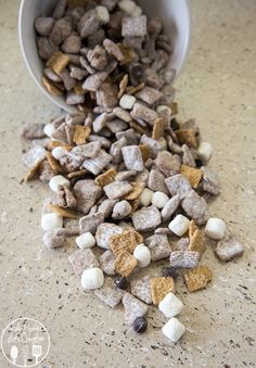 S'mores Muddy Buddies - This treat is even better than traditional muddy buddies with the addition of marshmallows and golden grahams. This treat is no bake, ready in just minutes and without a campfire.  You won't be able to resist this amazing treat!