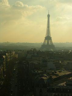 Paris - Tour Eiffel from Arc de Triomphe
