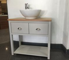 Painted Wash Stand Bathroom unit 600mm wide 1Softclose Drawer Bathroom Cabinet,                                                                                                                                                                                 More