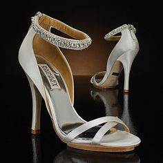badgley mischka decadence white Wedding Shoes    Save 14% off Suggested Retail price of $245.00  $210.00