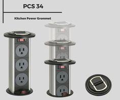 PCS34A   Kitchen Power Grommet
