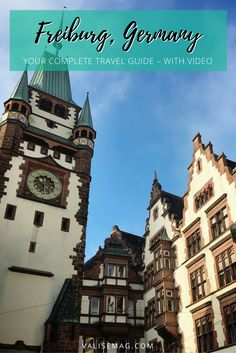 Is Freiburg on your itinerary while in Germany? Here& a guide that covers all the bases – history, food, accommodation, and experiences. Top Travel Destinations, Europe Travel Guide, Travel Guides, Travel List, Visit Germany, Germany Travel, Austria Travel, Dresden, Europe Holidays