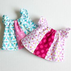 Penny's Party Dress PDF Pattern - for smaller dolls