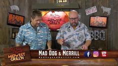 Tips from the grill! Mad Dog & Merrill showing you how to make pork on the grill. #maddogandmerrill #whyigrill #looksdelicious #grillingtips #whatsfordinner #midwestgrilln Grilling Tips, Grilled Pork, Mad, Dogs, Pet Dogs, Doggies