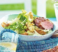 Caesar's Salad mit gegrillter Entenbrust Rezept