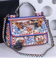 a620f9241d Dolce   Gabbana SICILY Bag Calfskin Leather BB4137TAH