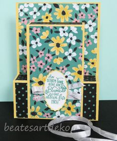 Step Card, Frame, Home Decor, Suit And Tie, Meadow Flowers, Wrap Around, Book Folding, Cash Gifts, Gift Cards