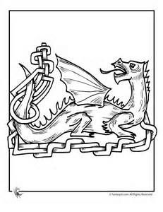 Celtic Dragon Coloring Page 5