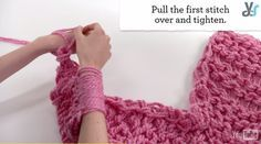 Video: Arm Knitting for Beginners by DIY Ready at http://diyready.com/video-arm-knitting-for-beginners/