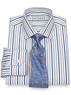 Paul Fredrick Men's Non-Iron Jermyn Street Collar Dress Shirt  http://www.beststreetstyle.com/paul-fredrick-mens-non-iron-jermyn-street-collar-dress-shirt/