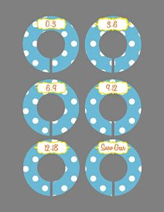 baby clothes closet divider free printable it includes a winter gear tab!