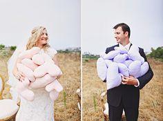 Too cute!  Eine tolle Hochzeit für den Spätsommer mit vielen verliebten Details | Friedatheres
