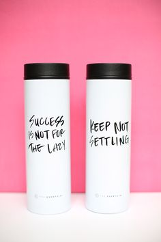 get it done travel mugs // shop.theeverygirl.com
