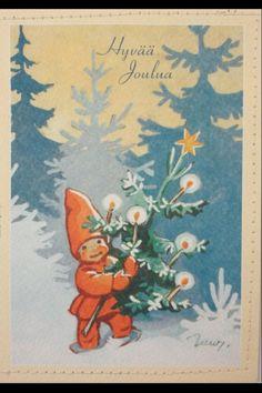 Via @Sue Goldberg Goldberg H H-Pryke Merry Christmas Finnish Style