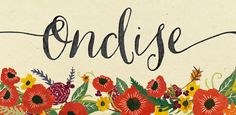 Fonts - Ondise by Magpie Paper Works - HypeForType Font Shop