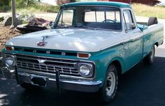 I want an old ford pickup truck in Baby blue so badly!<3