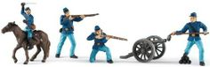 Safari LTD Union Army Set 2 by Safari. $13.52. Safari Ltd takes pride in providing breathtaking, innovative and value priced figures for now over 3 generations. All our products are phthalate-free and thoroughly safety tested to safeguard your child's health. Collection includes: union soldier kneeling, union infantryman firing, union cavalry soldier, union cannoneer and cannon. Each replica is set in an action pose, is sure to spark a child's desire to learn more about this impo...