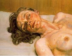 Lucian Freud- Girl with closed eyes (1986-1987)